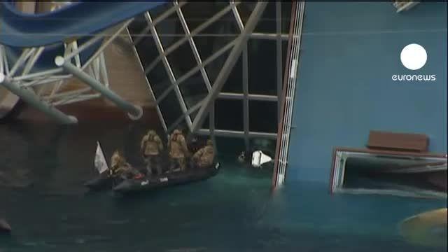 عامل واژگونی کشتی ایتالیایی «خطای انسانی» بود