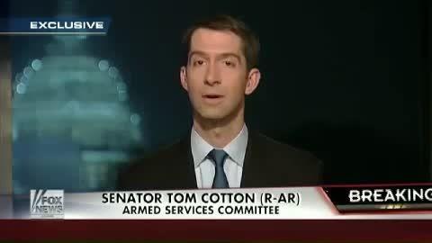 دفاع تام کاتن از نامه ی ارسالی به ایران از سوی سناتورها