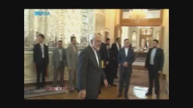 کنایه ظریف به تهدید با سیمان