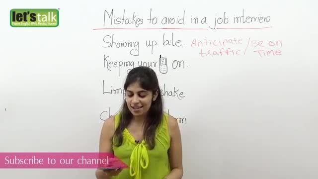 در هنگام مصاحبه شغلی از این اشتباهات دوری کنید!