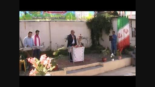 سخنرانی شهردار رودسر در افتتاحیه دبستان خیام رودسر