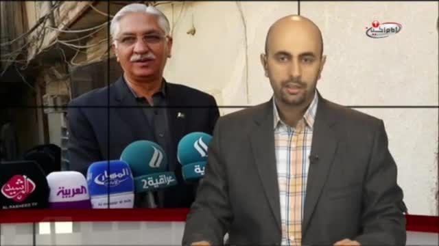 دیدار رئیس مجلس سنای پاکستان با مراجع تقلید در نجف اشرف