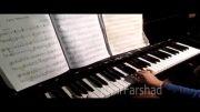 پیانو توسط امیرفرشاد 9 ساله از تهران / جان مریم چشماتو وا کن