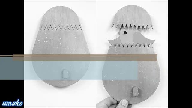آویز لباس تخم مرغی برای بچه ها
