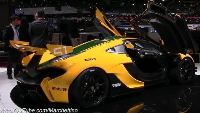 نگاهی به خودروی 2.2 میلون یورویی مک لارن P1 GTR