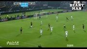 گل دوم ال شاراوی به رئال مادرید (میلان 3-1 رئال مادرید)