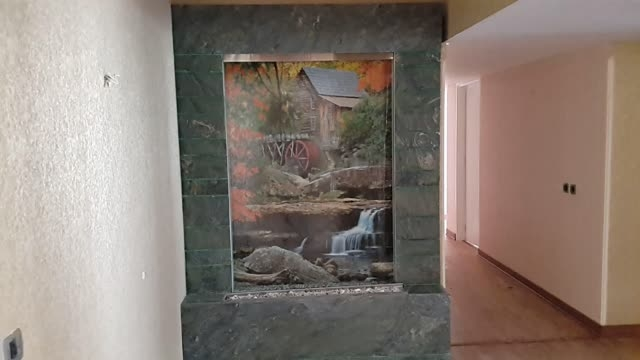 آبنمای شیشه ای-آبنمای مدرن-آبنکای کلاسیک-آبشار صخره ای