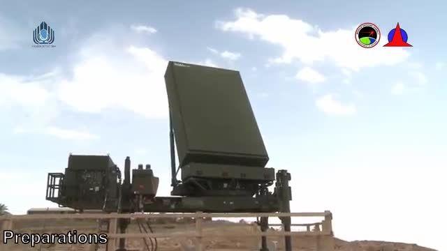 آزمایش سیستم دفاع موشکی David Sling