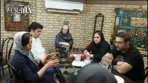 حرف های مهراوه شریفی نیا و باران کوثری درباره یک نقش