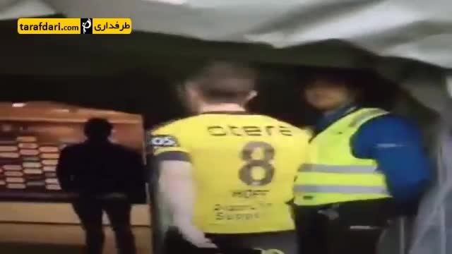 وقتی بازیکن نروژی می خواهد عصبانیتش را خالی کند
