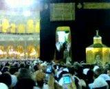 باز شدن درب کعبه با حضور ملک عبدالله پادشاه عربستان