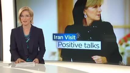 گشت و گذار وزیر خارجه استرالیا در بازار تجریش