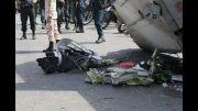 سقوط هواپیما امروز در غرب تهران + عکس جسد سوخته شده