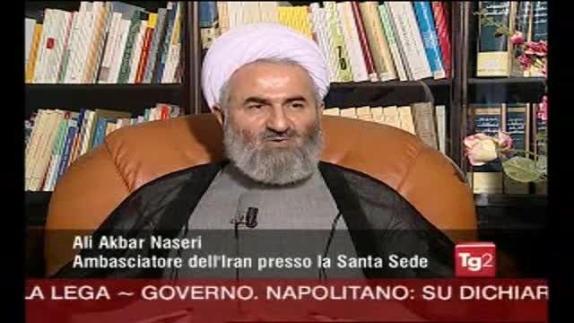 """مصاحبه با شبکه خبری""""TG2"""" ایتالیا در رابطه سکینه آشتیانی"""