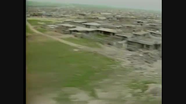 تصاویر وحشتناک حلبچه پس از حمله شیمیایی عراق