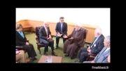 دیدار روحانی با رئیس شواری اروپا