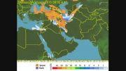 بارش 17 دی تا 23 دی 93 (هواشناسی چهارفصلwww.hava4.ir)