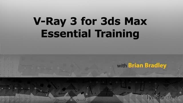 آموزش مهارت های ضروری V-Ray 3 از شرکت لیندا