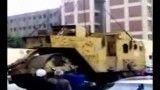 سقوط مدحلة علی سیارات++سقوط غلتك بر روی خودروها