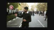حاشیه تشییع باشکوه پیکر مرتضی پاشایی با حضور هنرمندان