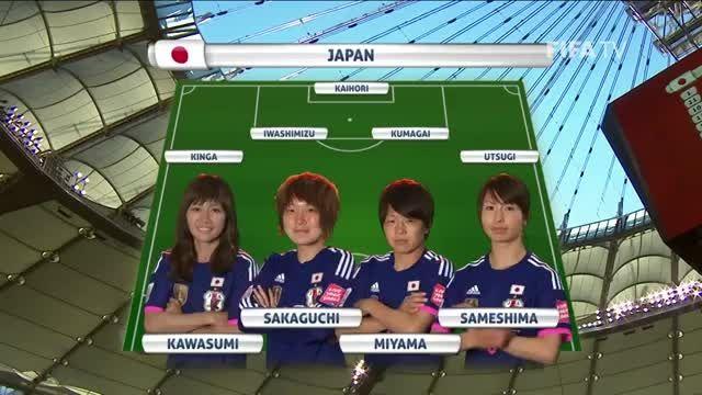 ترکیب : ژاپن VS کامرون (جام جهانی زنان 2015 کانادا)