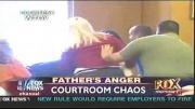 حمله ی پدر مقتول به قاتل در دادگاه!!!!