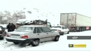 آخرین وضعیت بارش برف در شیراز از اخبار فارس