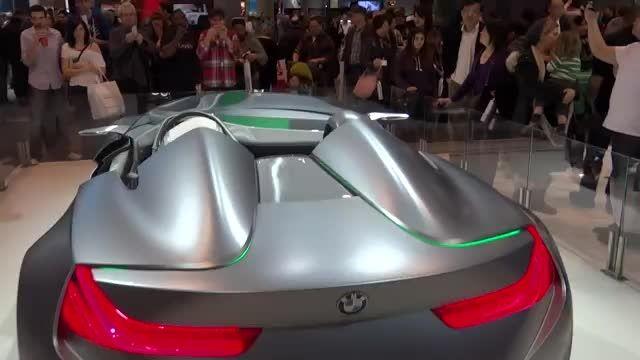 سوپر خودروی مفهومی بی ام دبلیو 2015 رونمایی شد