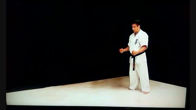 اجرای ساباکی نو کاتا (قدرت واکنش)توسط کانچو خوشی