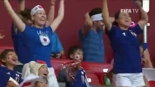 لحضات جالب جام جهانی زنان کانادا ۲۰۱۵ - قسمت ۱