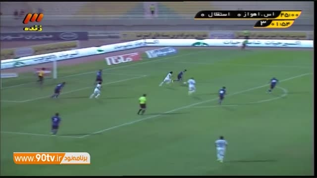 خلاصه بازی: استقلال اهواز 1-2 استقلال تهران