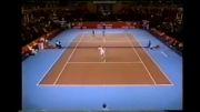 منصور بهرامی، کمدینی در دنیا تنیس