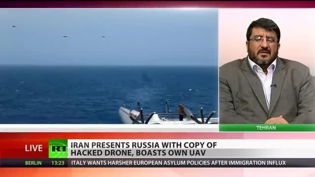 هدیه ایران به روسیه و دماغ سوخته امریکا - Scan Eagle