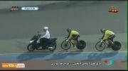 دوچرخه سواری کایرین: کسب مدال طلا توسط محمد دانشور