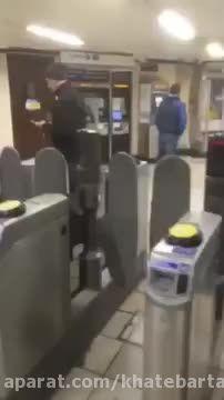 چاقوکشی یک داعشی در متروی لندن