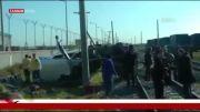 برخورد یک قطار با یک اتوبوس در ترکیه