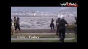 ضرب و شتم دختر جوان توسط پلیس ترکیه