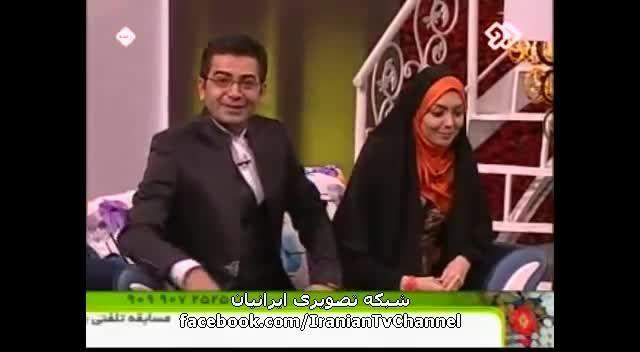 سوتی خنده دار فرزاد حسنی در برنامه نوروزی