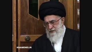 حضور رهبر انقلاب در منزل شهید علی محمدی