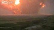 آزمایش بمب 35 تنی آمریکا _ افغانستان