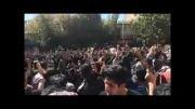 تظاهرات مردم علیه اسید پاشی در اصفحان