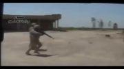 فرار سگ های داعش از ترس ارتش عراق