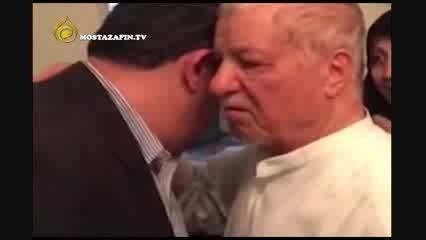 واکنش آملی لاریجانی به فیلم وداع هاشمی با آقازاده