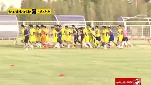 آماده سازی تیم فوتبال استقلال خوزستان برای فصل جدید