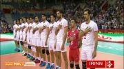 پیش بازی والیبال ایران - آلمان