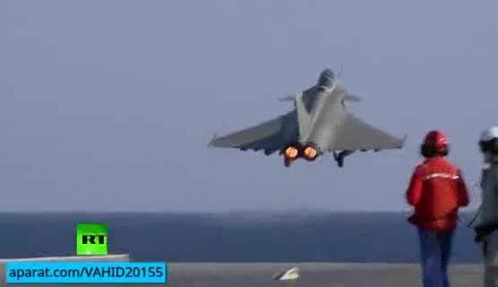 آغاز حملات هوایی فرانسه بر سر داعشی ها