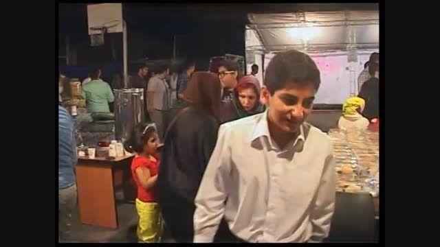 شبی با بچه های آسمان در دبیرستان سلام تجریش سال 93