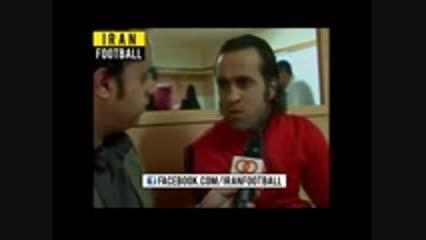 صحبت های جنجالی علی کریمی علیه دایی
