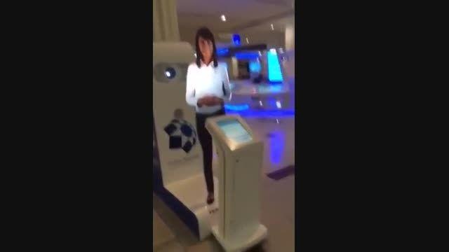 فناوری پیشرفته در فرودگاه دبی