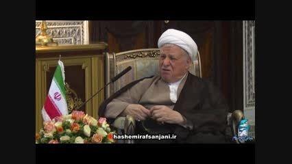 هاشمی در دیدار رئیس جمهور اتریش